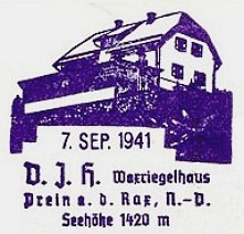 Waxriegelhaus, Hüttenstempel