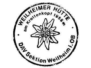 Weilheimer Hütte - Estergebirge