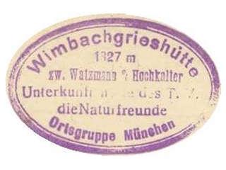 Wimbachgrieshütte