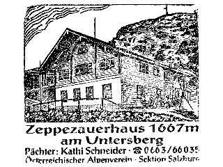 Zeppezauerhaus - Berchtesgadener Alpen